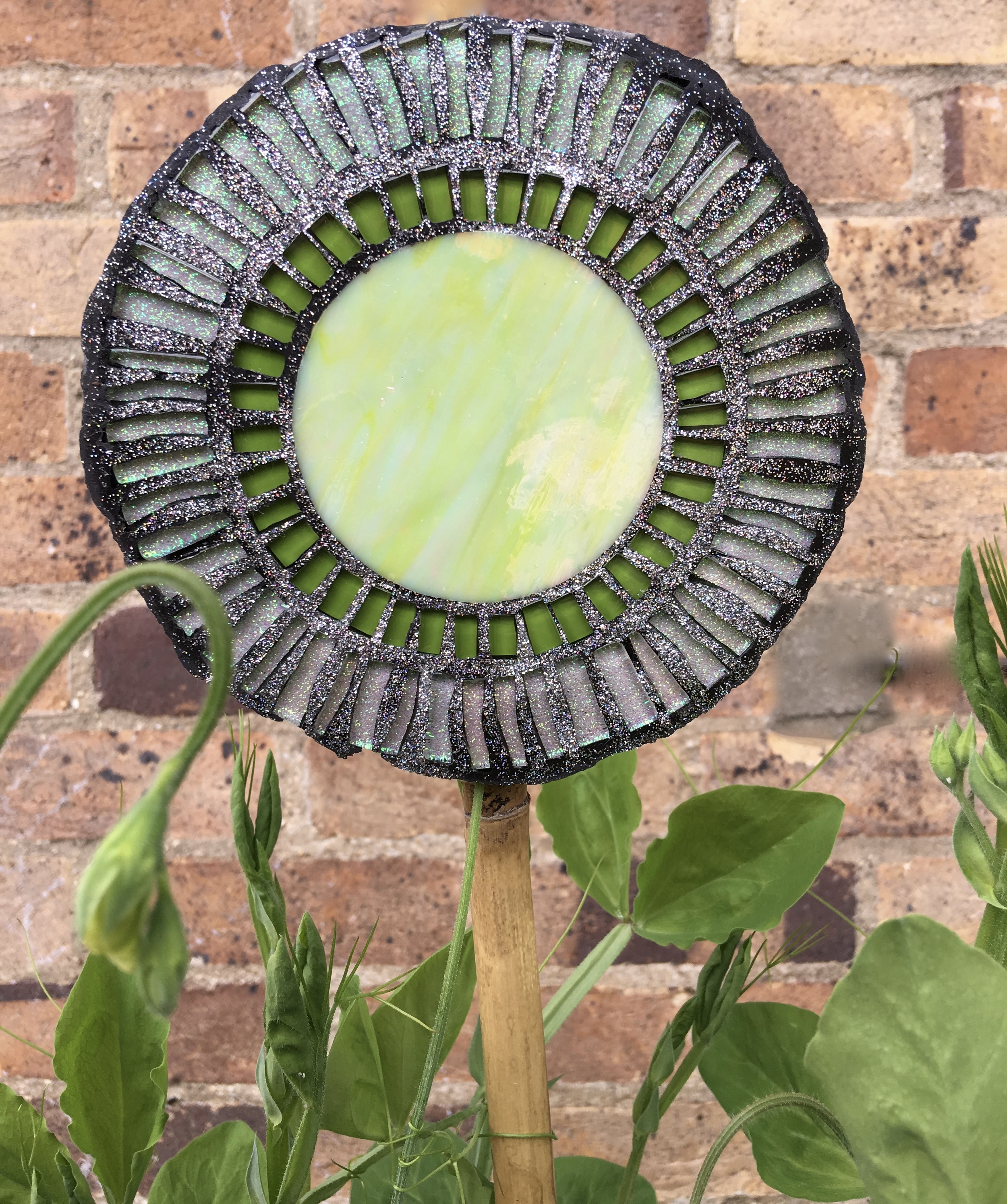 Mosaic flower - one of a variety of colours to choose from