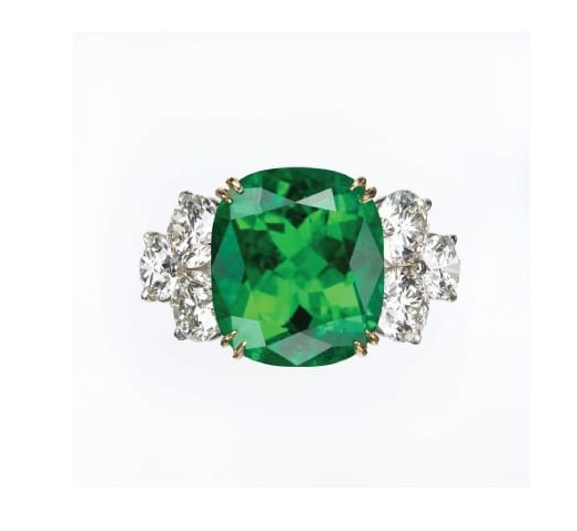 EMERALD & DIAMOND RING BESPOKE FINE JEWELLERY BY SHAHINA HATTA