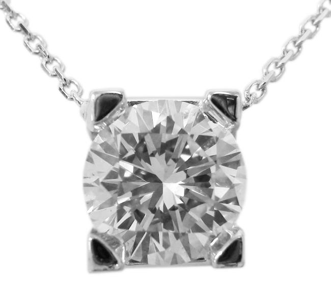 DIAMOND SOLITAIRE PENDANT BESPOKE FINE JEWELLERY BY SHAHINA HATTA