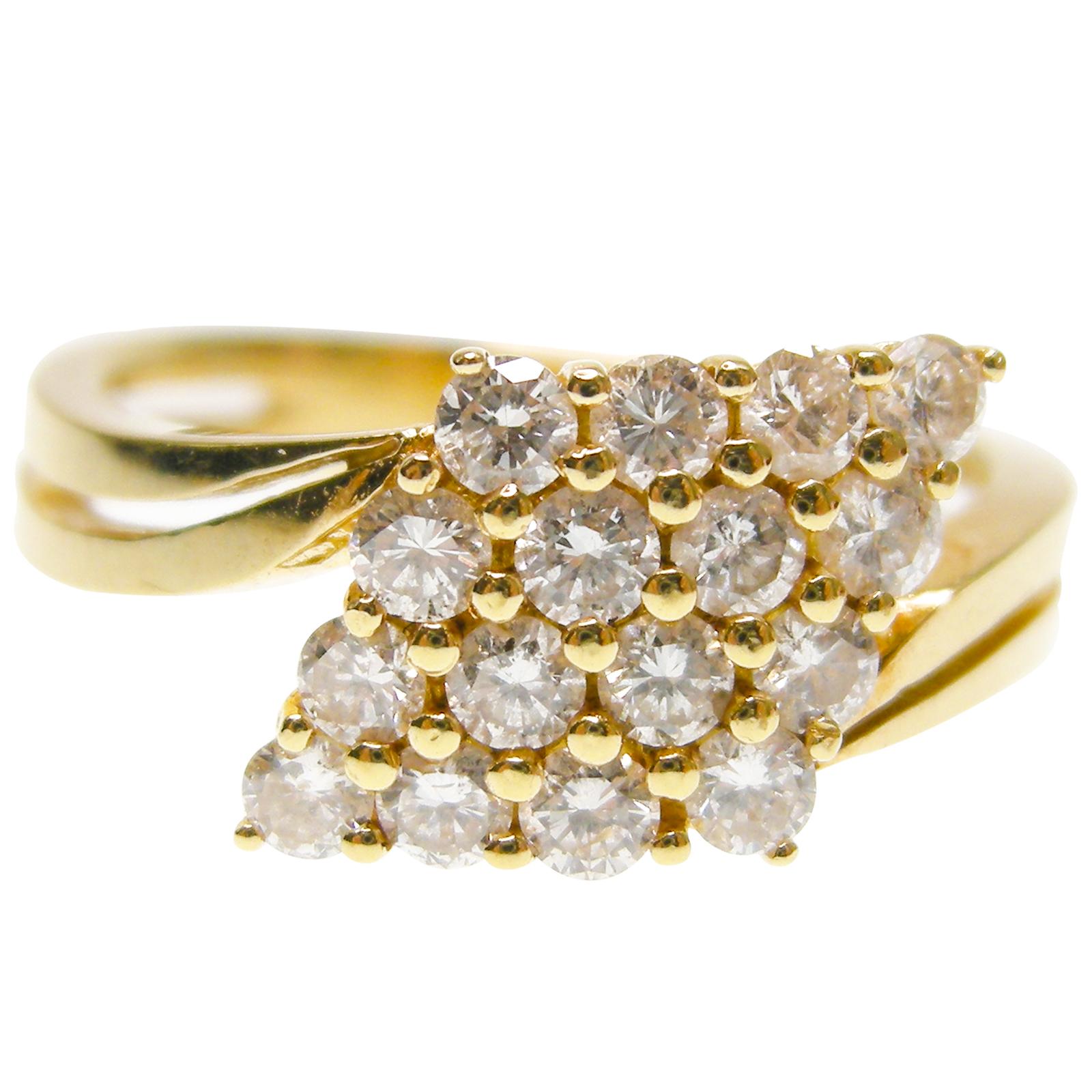 META DIAMOND KITE RING BESPOKE FINE JEWELLERY BY SHAHINA HATTA