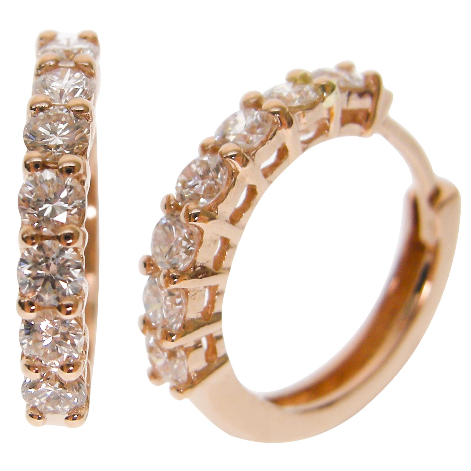 CLASSIC DIAMOND EAR HUGGIES CLUSTER DIAMOND PENDANT BESPOKE FINE JEWELLERY BY SHAHINA HATTA