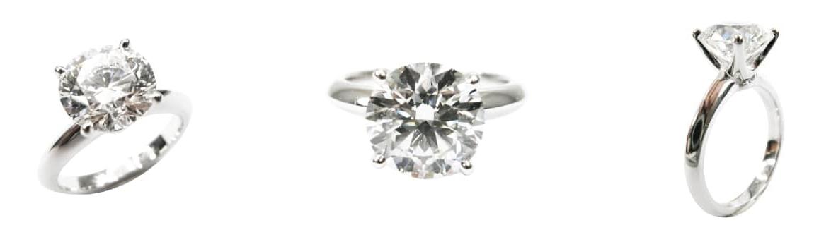 FOUR CLAW DIAMOND SOLITAIRE BESPOKE FINE JEWELLERY BY SHAHINA HATTA