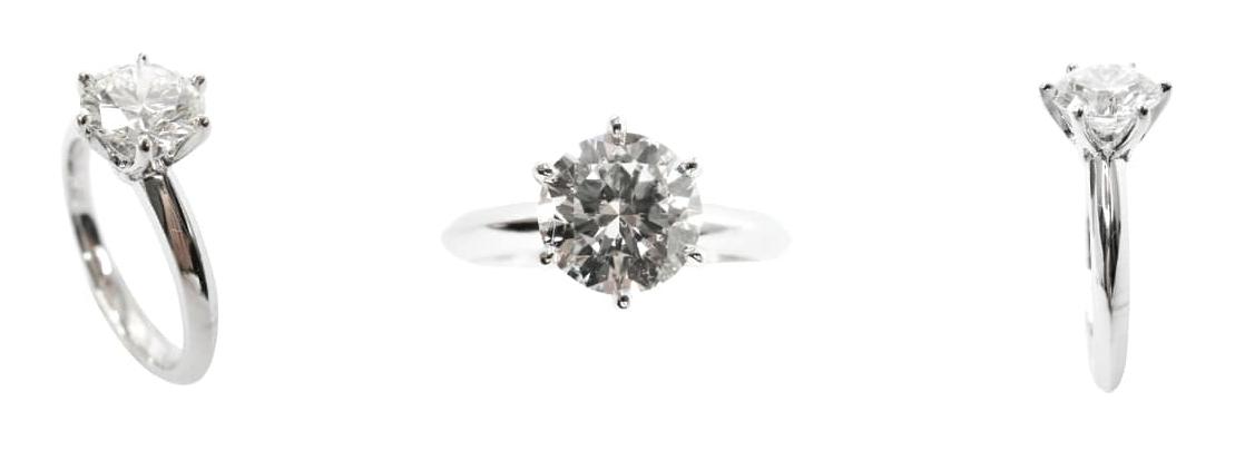 SIX CLAW DIAMOND SOLITAIRE PLATINUM SETTING BESPOKE FINE JEWELLERY BY SHAHINA HATTA