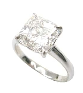 CUSHION CUT DIAMOND SOLITAIRE BESPOKE FINE JEWELLERY BY SHAHINA HATTA