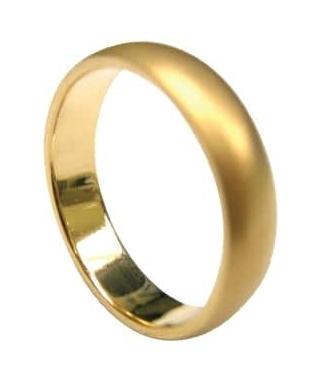 SAND BLASTED YELLOW GOLD COMFORT FIT MEN'S WEDDING BAND 3MM BESPOKE FINE JEWELLERY BY SHAHINA HATTA