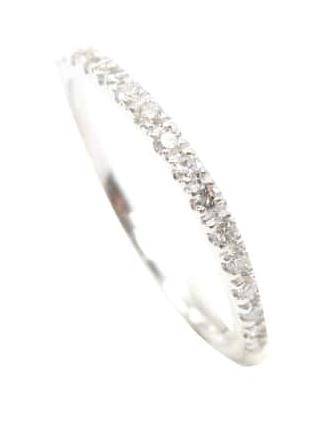 MICROPAVE DIAMOND ETERNITY RING BESPOKE FINE JEWELLERY BY SHAHINA HATTA