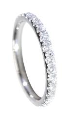 DIAMOND ETERNITY RING BESPOKE FINE JEWELLERY BY SHAHINA HATTA