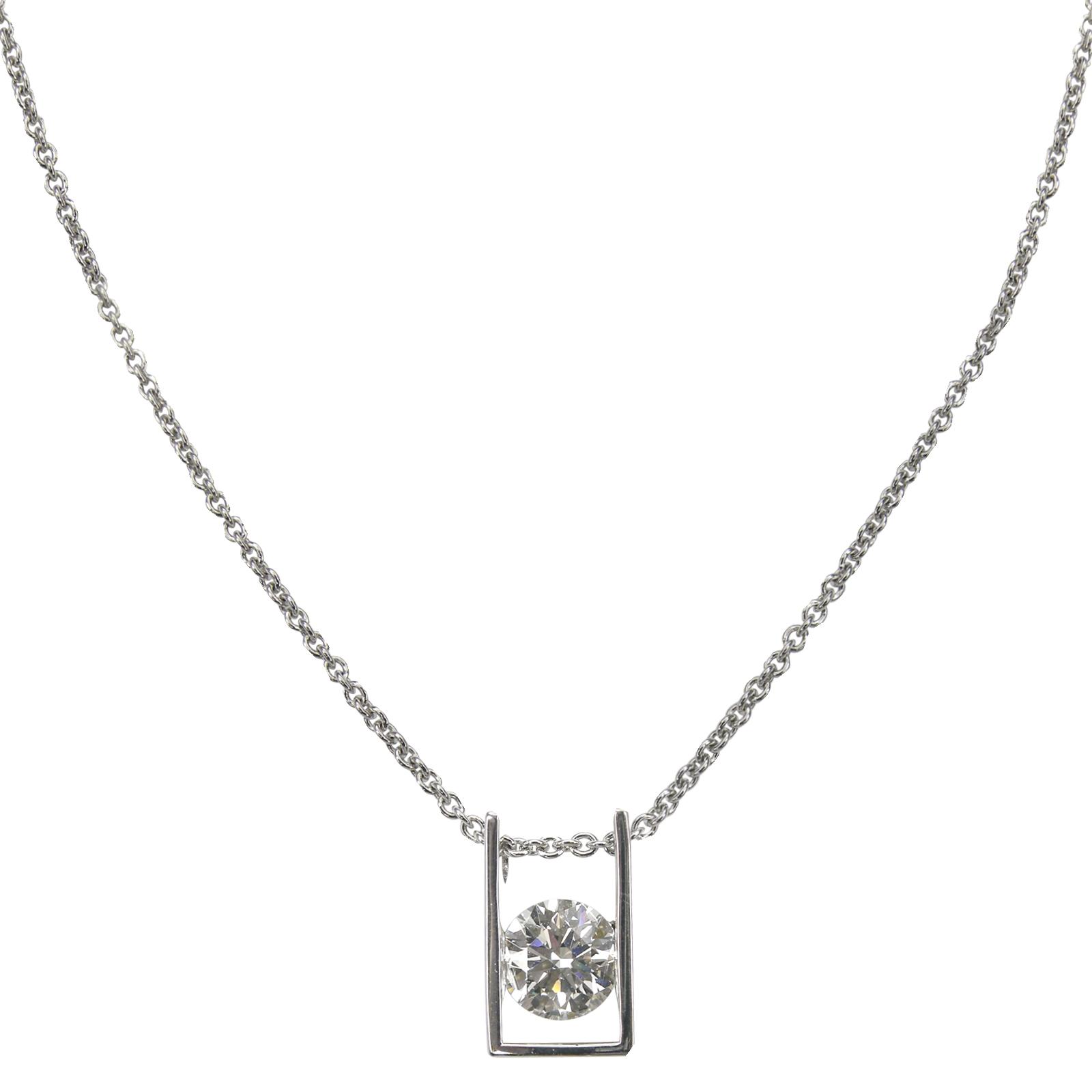 SIGNATURE DIAMOND PENDANT BESPOKE FINE JEWELLERY BY SHAHINA HATTA