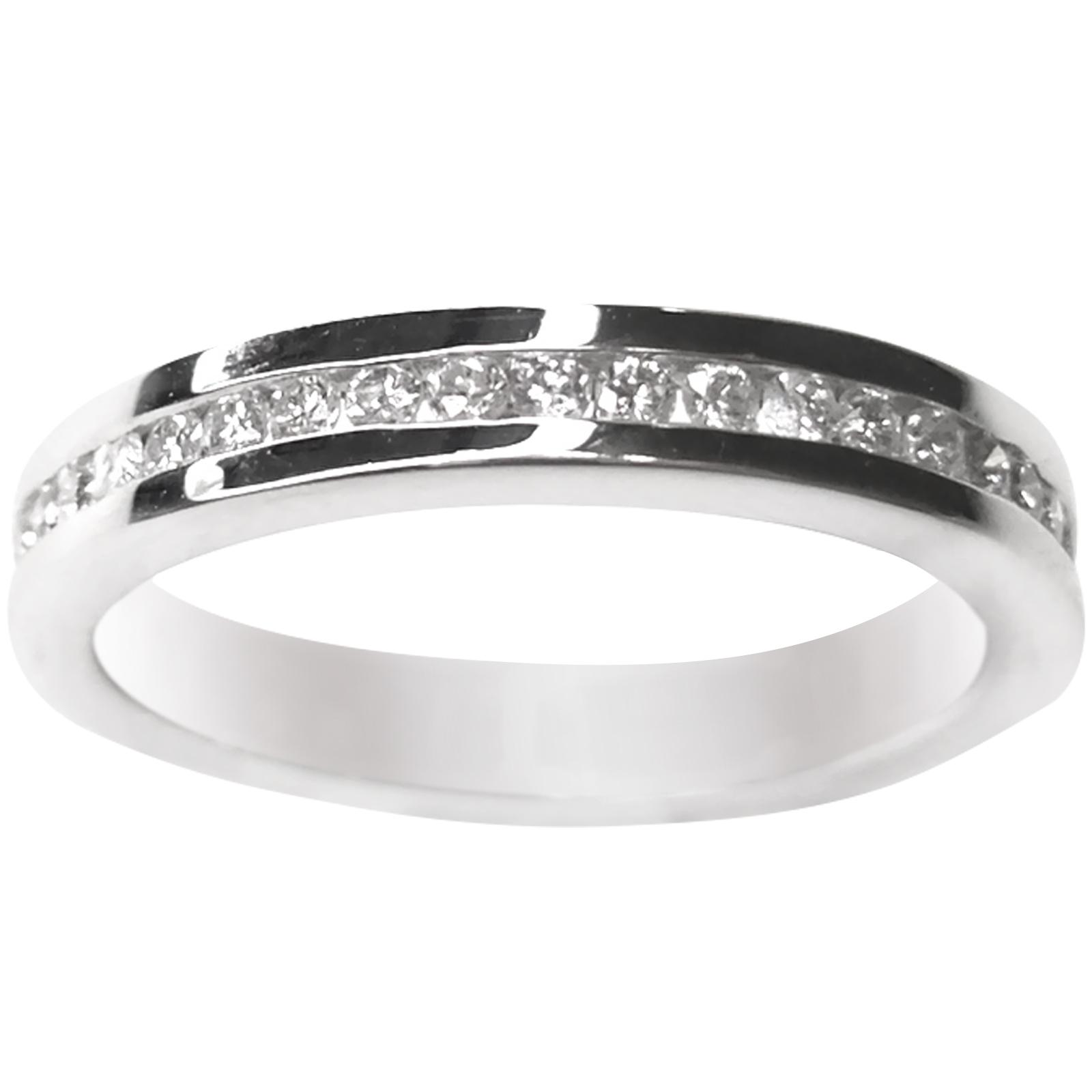 CHANNEL SET DIAMOND ETERNITY RING BESPOKE FINE JEWELLERY BY SHAHINA HATTA
