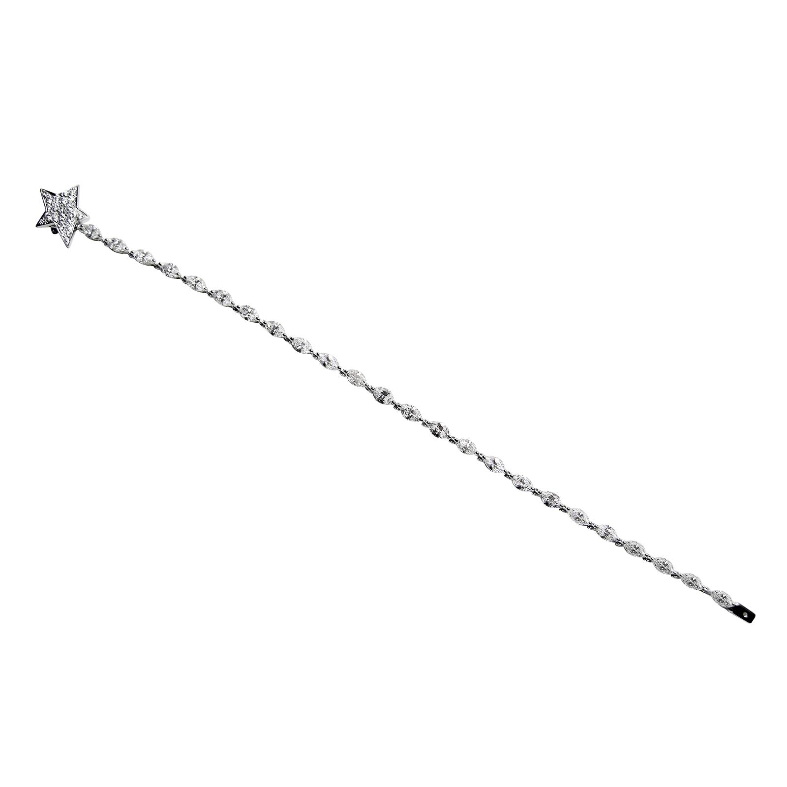 MARQUISE CUT DIAMOND TENNIS BRACELET CLUSTER DIAMOND PENDANT BESPOKE FINE JEWELLERY BY SHAHINA HATTA