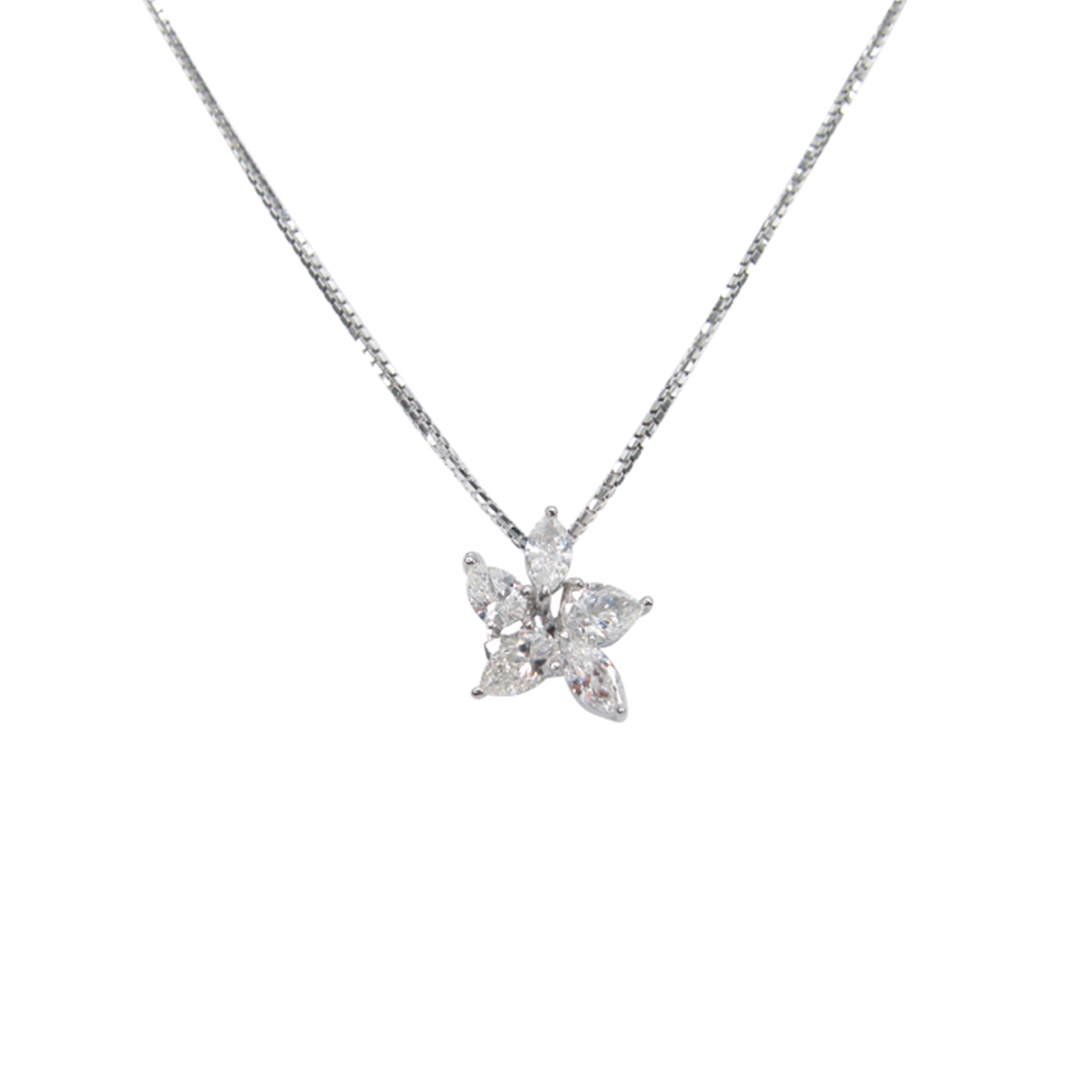 CLUSTER DIAMOND PENDANT BESPOKE FINE JEWELLERY BY SHAHINA HATTA