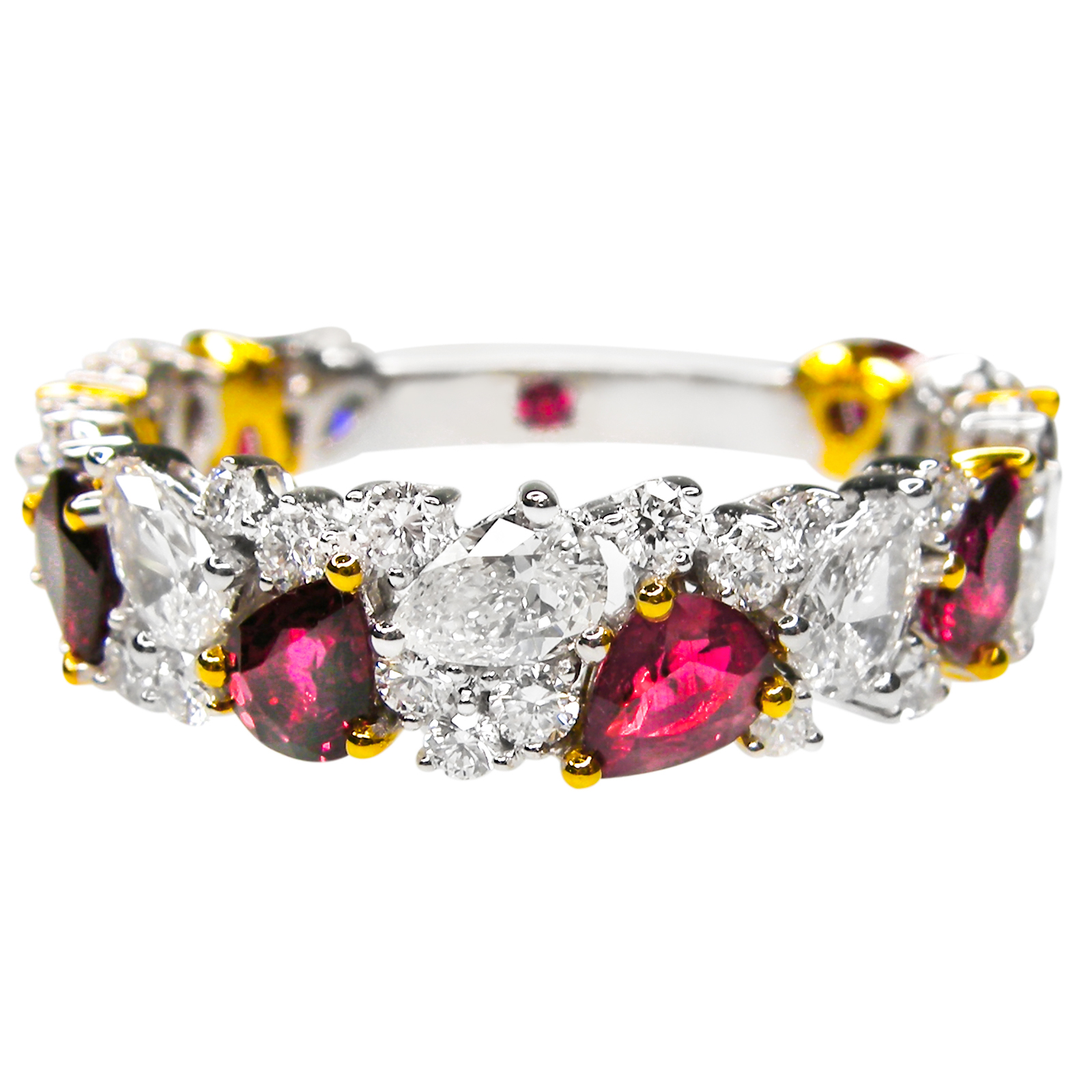 SIGNATURE RUBY AND DIAMOND BAND
