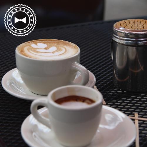 Latte, de Friend's Café, Mayagüez