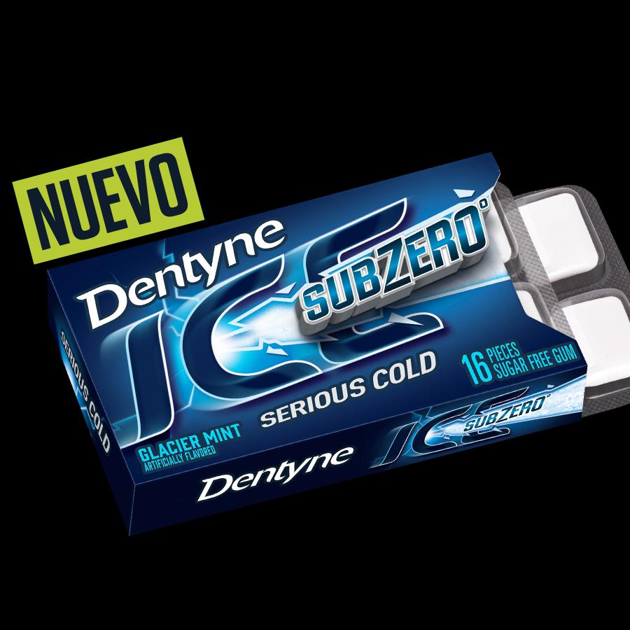 Dentyne Ice Sub Zero