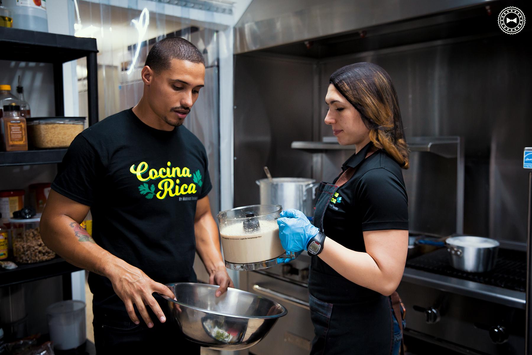 Luis Rodríguez y Marimar de Hoyos • Cocina Rica, Área Metro (Delivery)