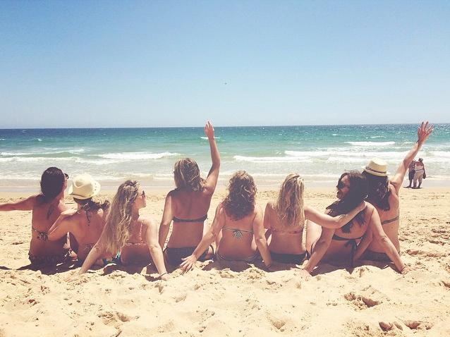 Strandleven.