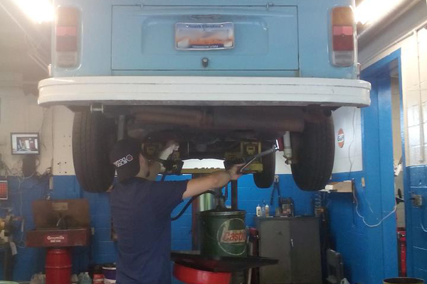 VW air cooled engine bus oil change service in Columbia SC