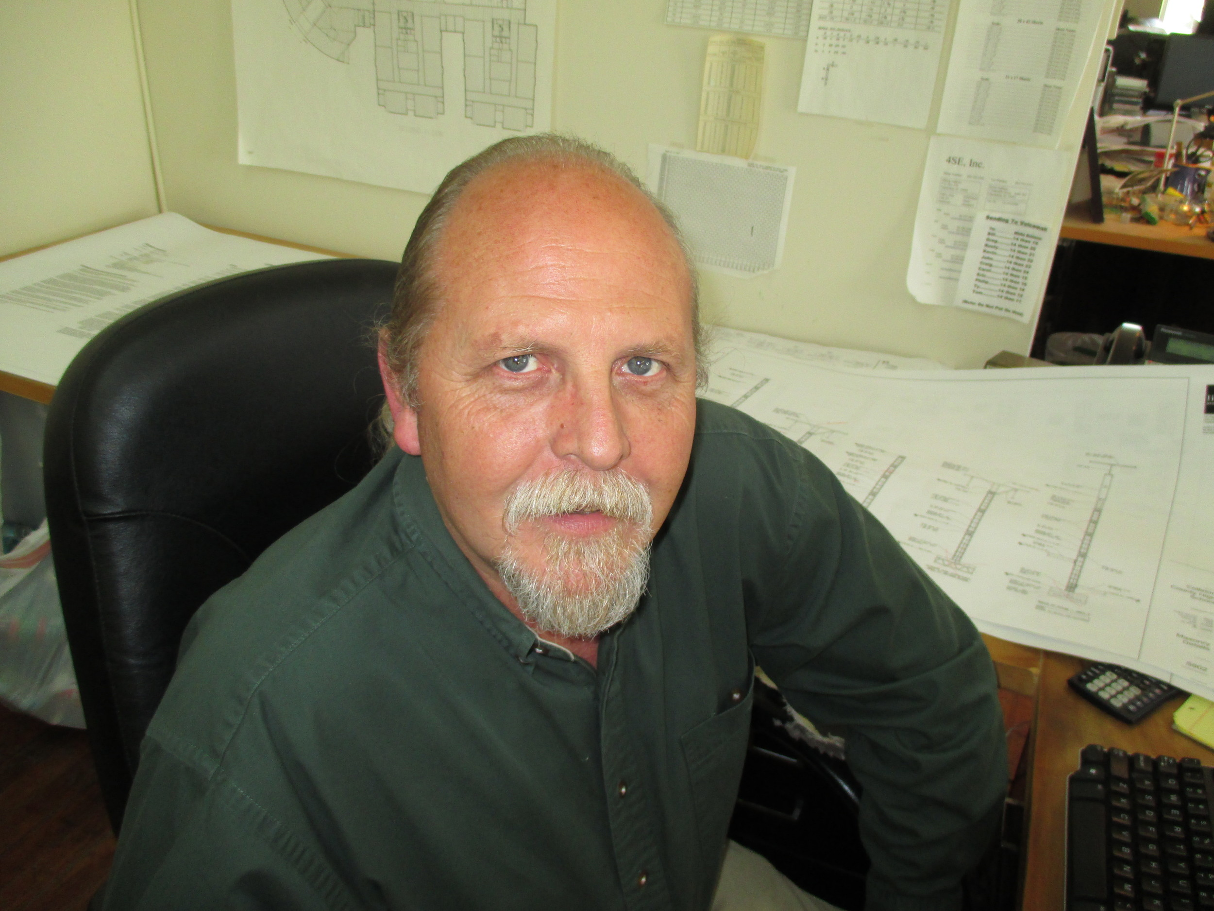 Kevin Googe, CAD Technician, Head of Production