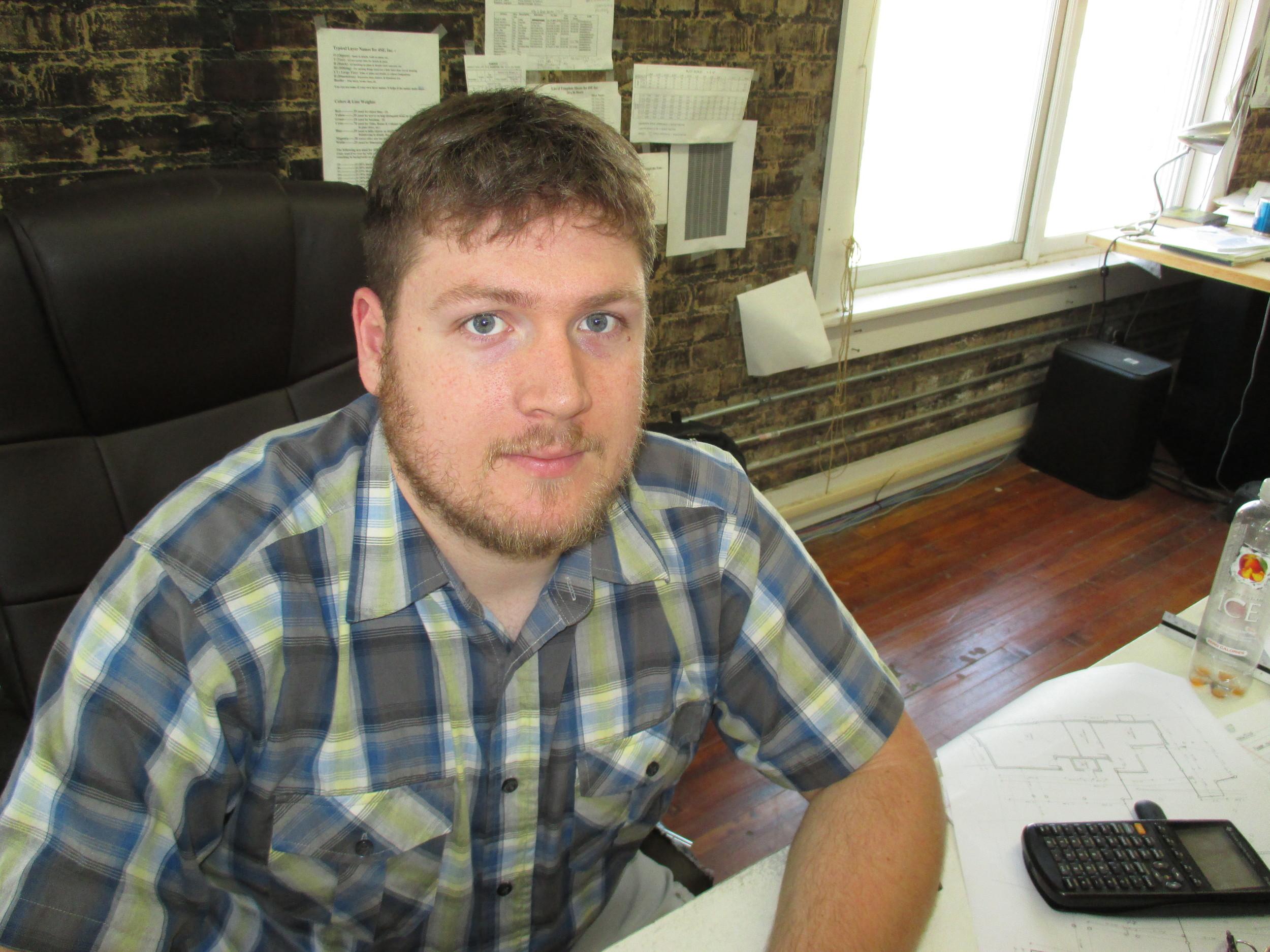 Tom Morrison, CAD Technician