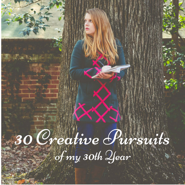 30 Creative Pursuits