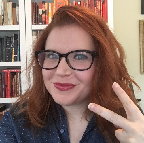 (Me in the middle of trying to film a video about Get Your Dream Off the Ground and just deciding a selfie with deuces was easier...)