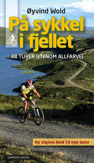 Omslag På sykkel i fjellet av Øyvind Wold.