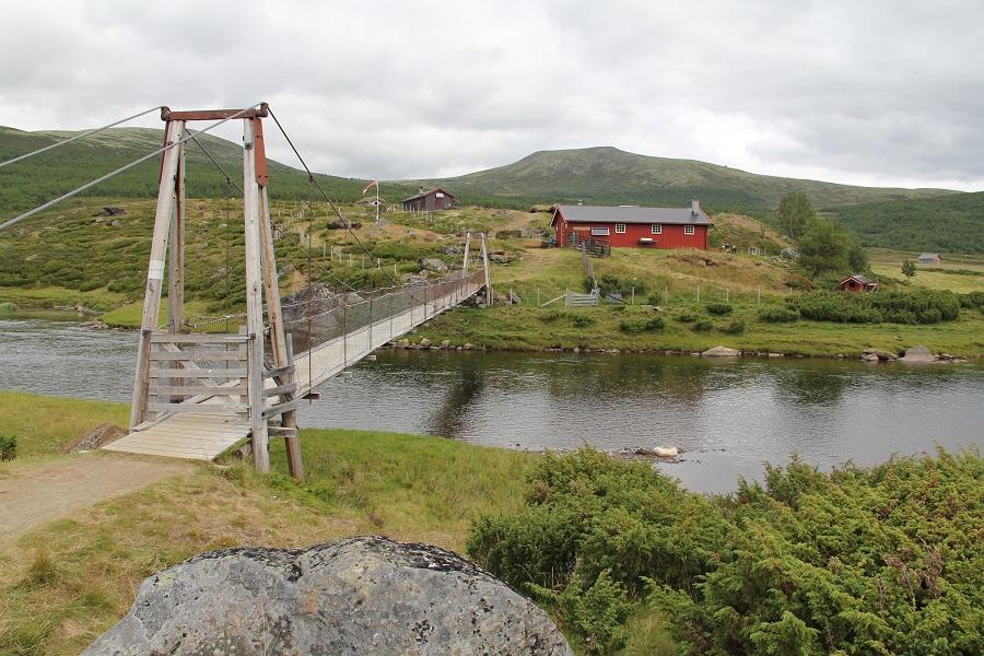 Romsdalssetra i Einunndalen har åpen servering med mye godt i sommersesongen.