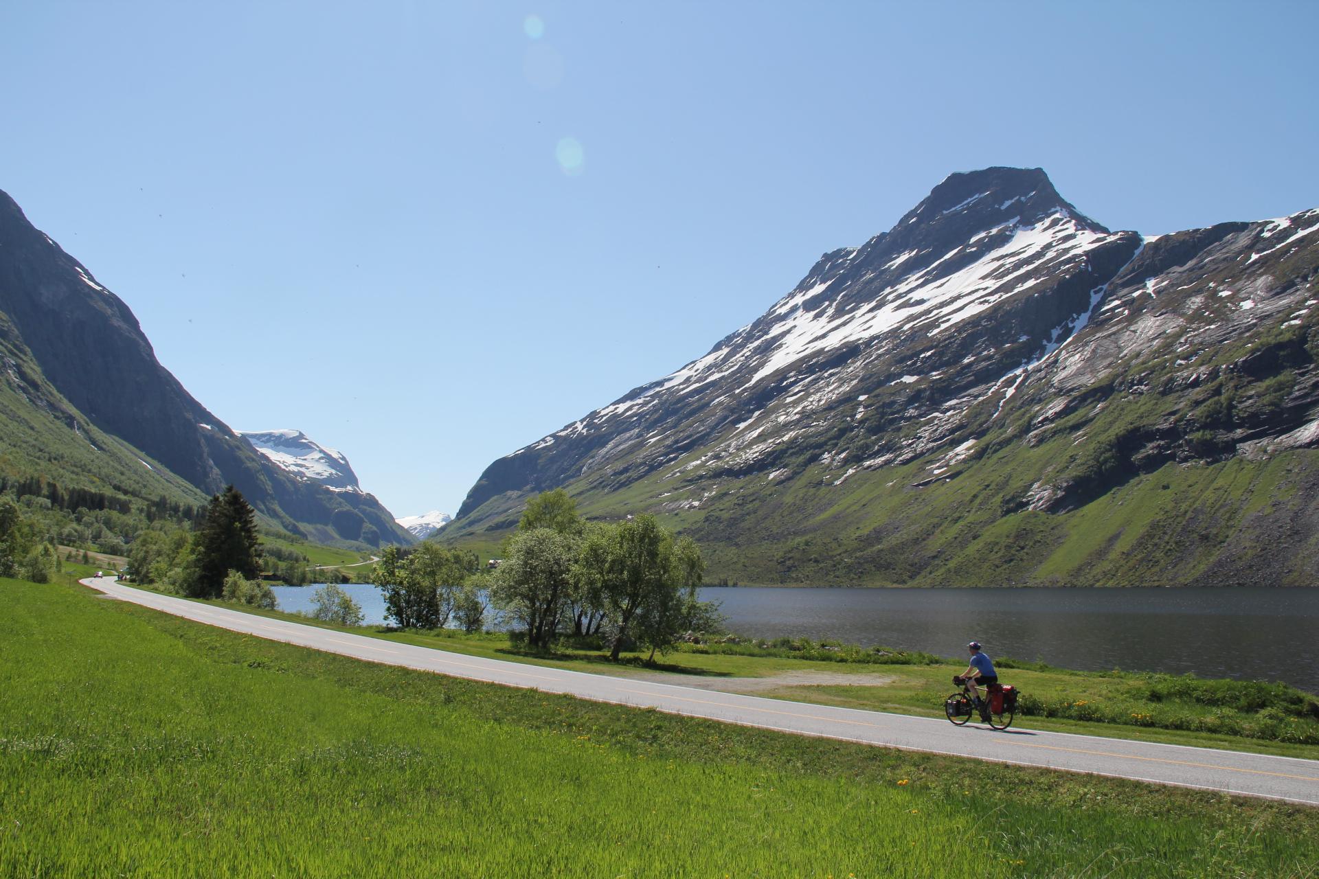 På vei fra Eidsdal til Geiranger.