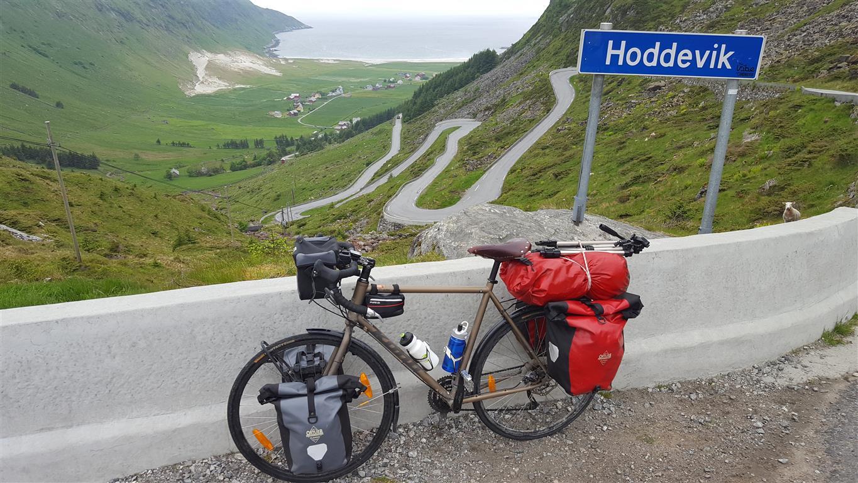 Tursykkelen Kona Sutra fungerer utmerka til sykkeltur i Norge.
