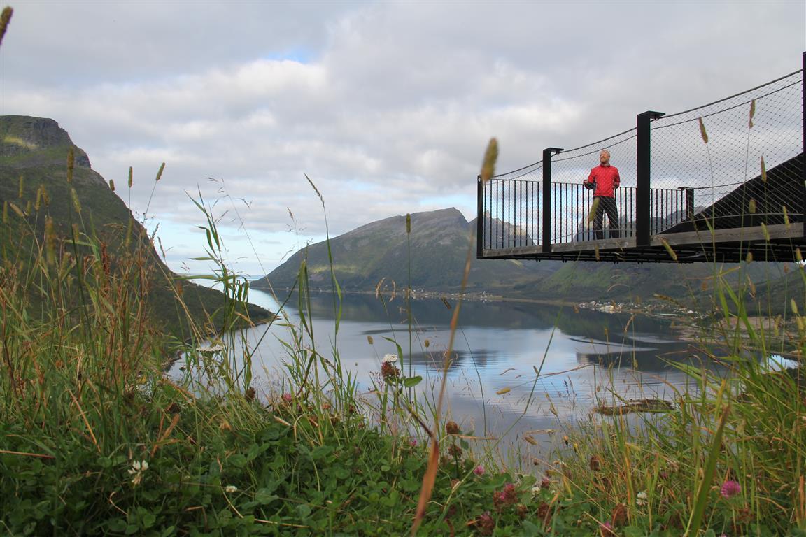 De nasjonale turistvegene tilbyr så tøffe rasteplasser at det ofte er vanskelig å sykle forbi uten å ta en pause.