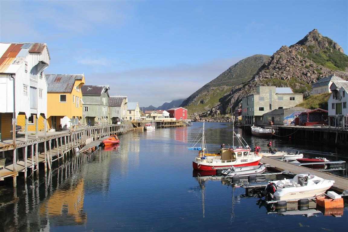 There are also many nice small towns and villages,like Nyksund in Vesterålen.