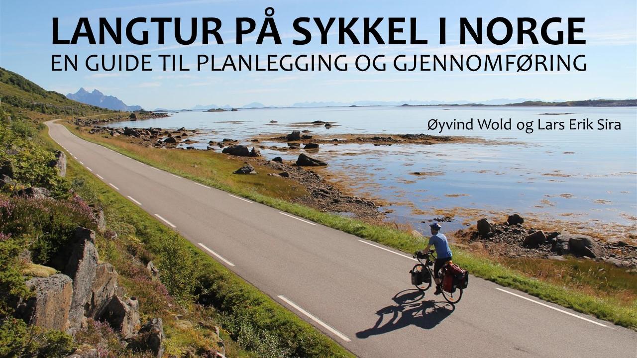 Forside på eboka Langtur på sykkel i Norge.