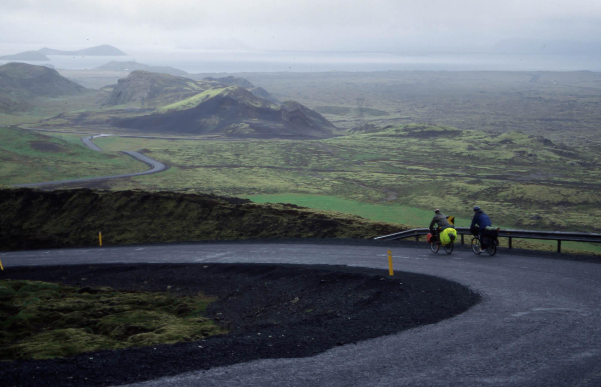 Island er et eventyrland for turer både med og uten sykkel.