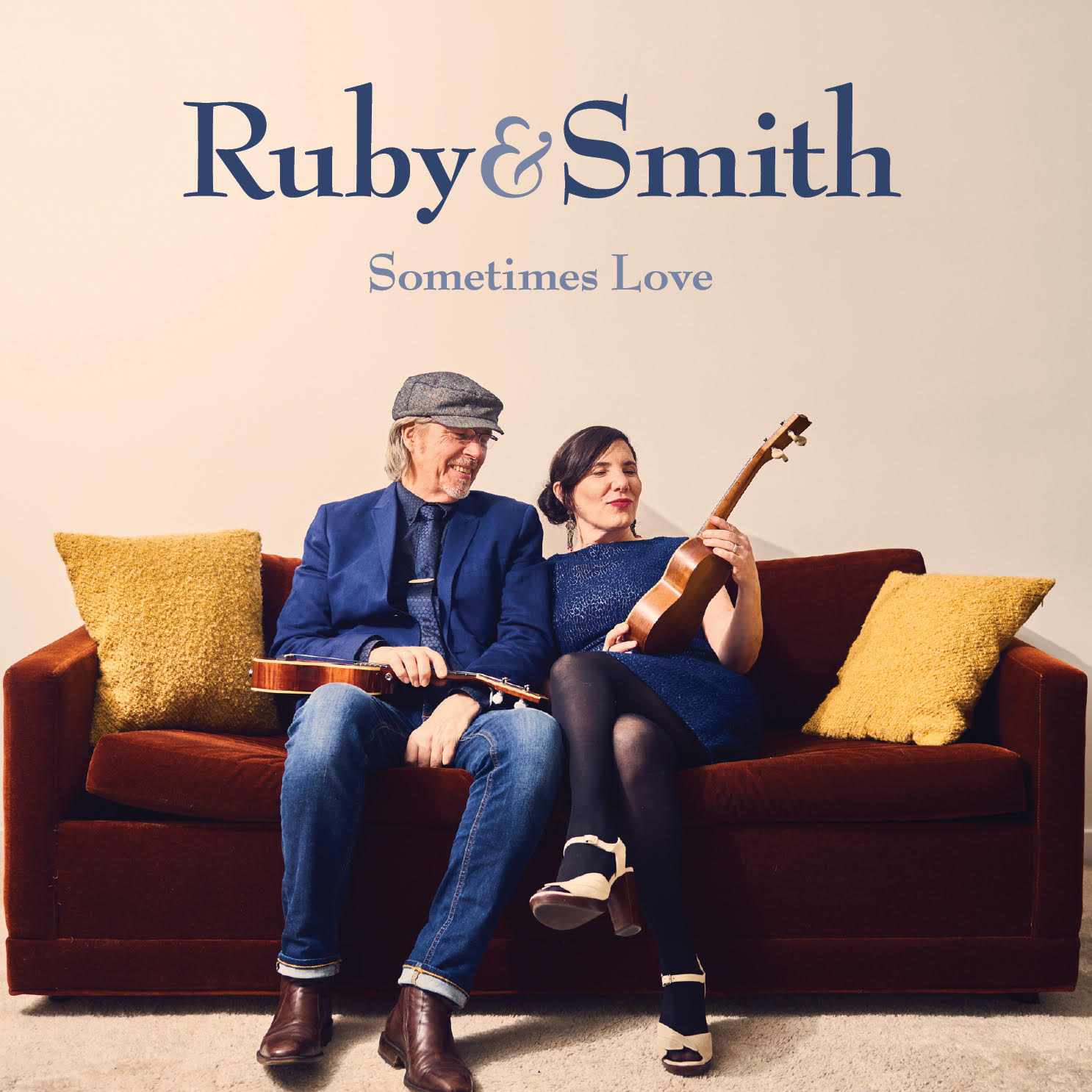 New Music Coming September 28 - Ruby & Smith are Vancouver's First Lady and Duke of Uke, Daphne Roubini and Andrew Smith, also known across Canada and beyond for their vintage jazz band Black Gardenia and Ruby's Ukes, the World's largest Ukulele School outside Hawaii. Sometimes Love is the new album coming this fall from Ruby & Smith.