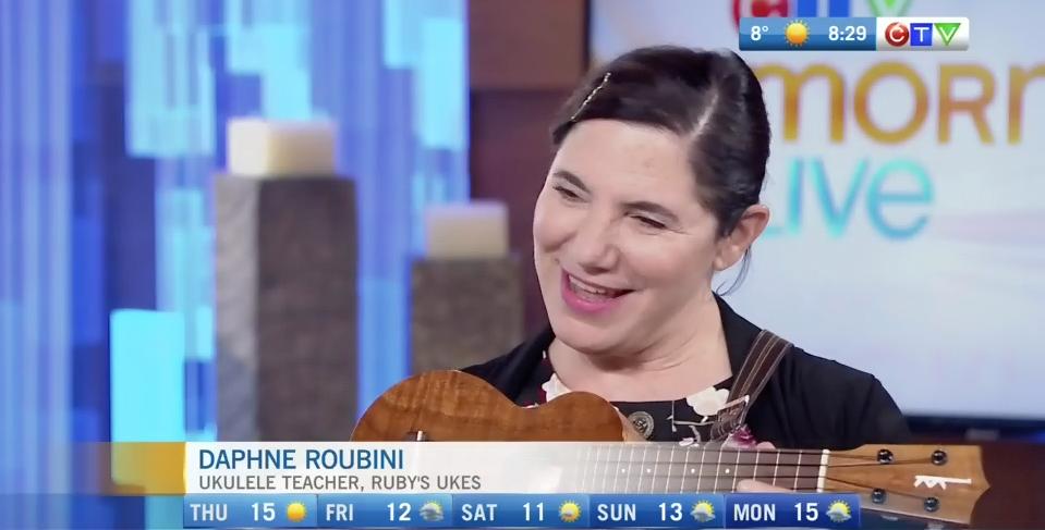 Learning to play the ukulele