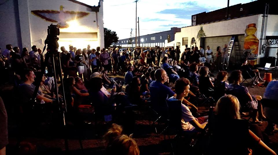 Pecha Kucha at 934 Gallery, August 2016 - photo by Heather Taylor