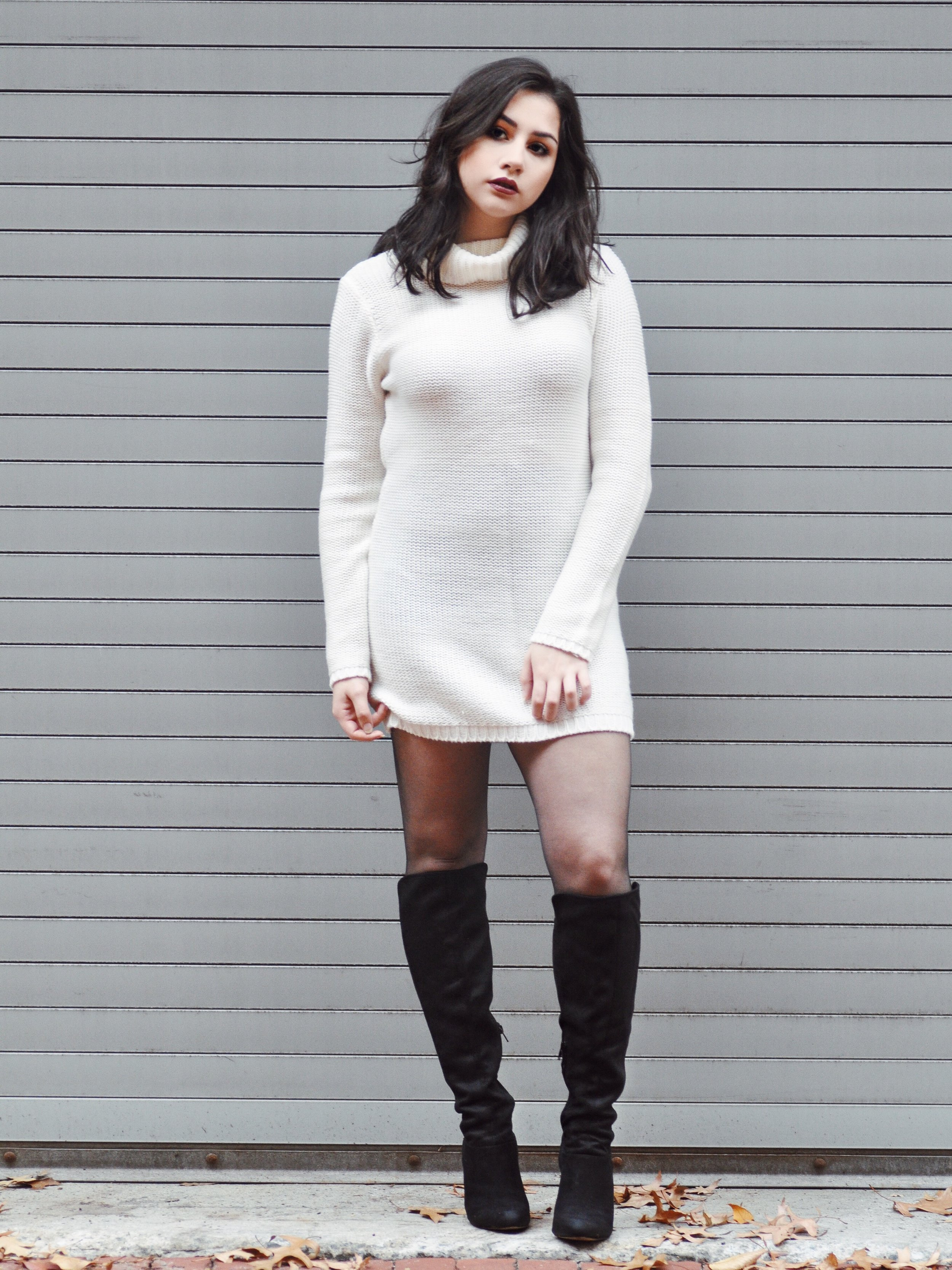tobi nestled up sweater dress
