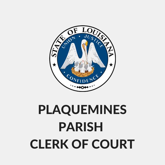 Plaquemines Parish Clerk of Court