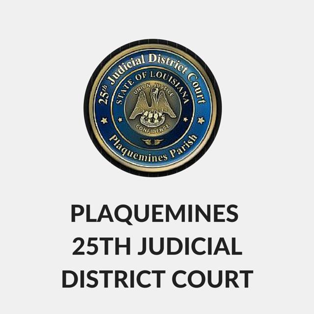 Plaquemines 25th Judicial District Court