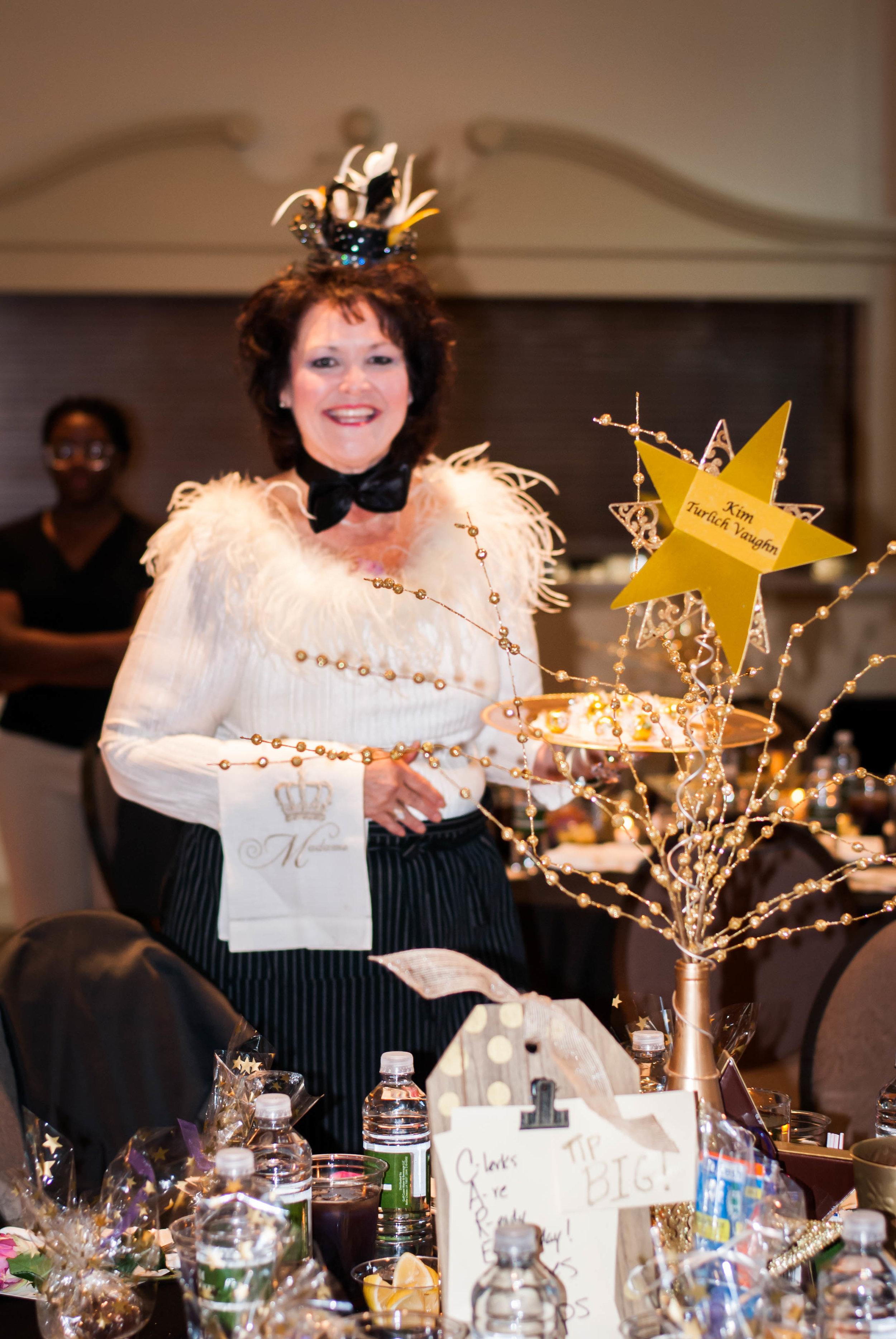 Celebrity Waiter Kim Turlich Vaughn