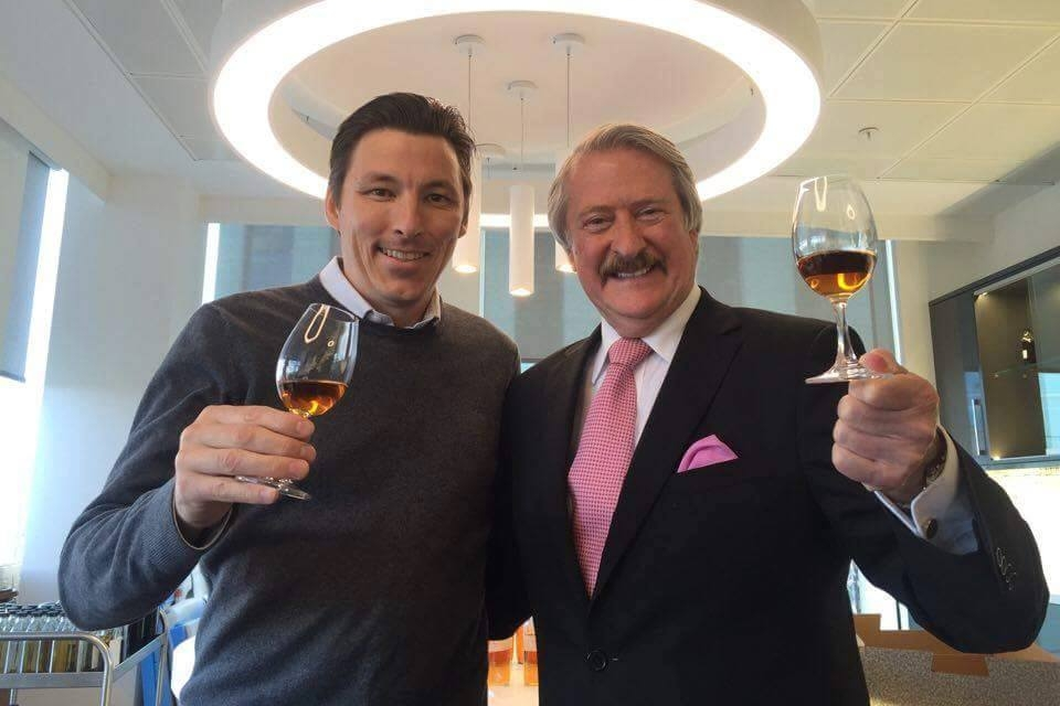 WIth Richard Paterson at The Dalmore Blending Room
