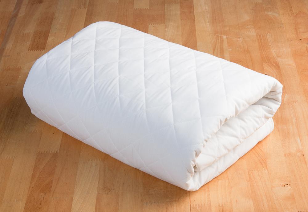 photo of hotel mattress pad