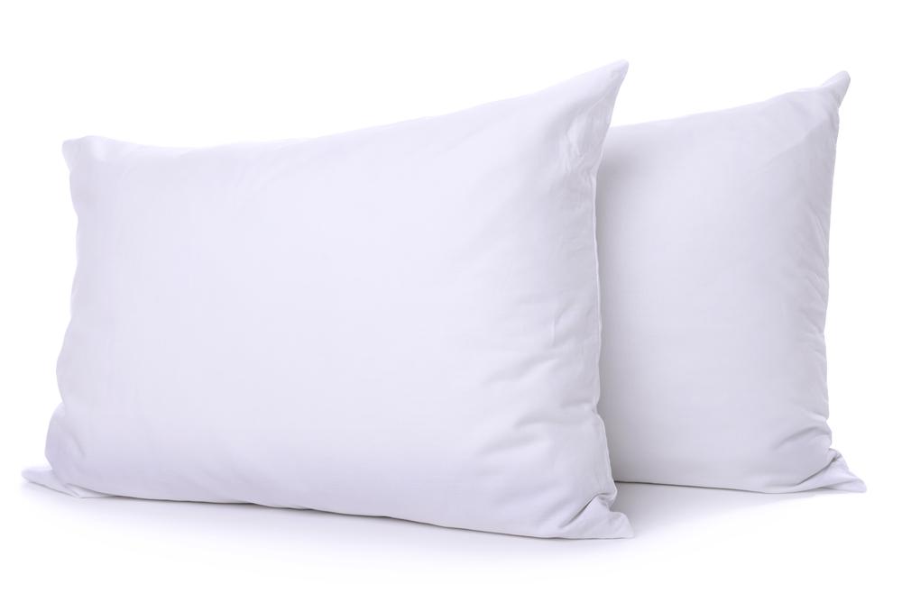 photo of hotel cluster fiber pillow