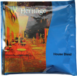 Heritage 1 Cup Coffee. 150 per case. Available in Regular & Decaf