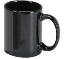 Coffee Mug Black 3MAI-7168 36/case