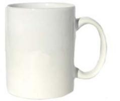 Coffee Mug White  3MAI-7168-02 36/case