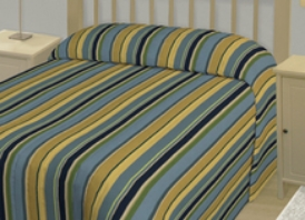 Awning Stripe - Blue (Other colours available. Please call for details.)