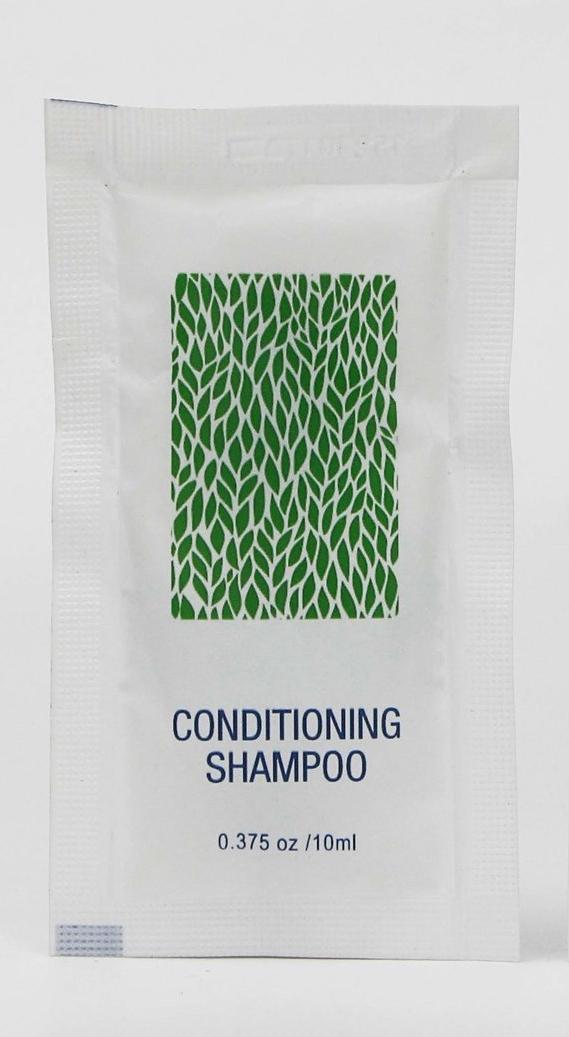 hotel shampoo packette