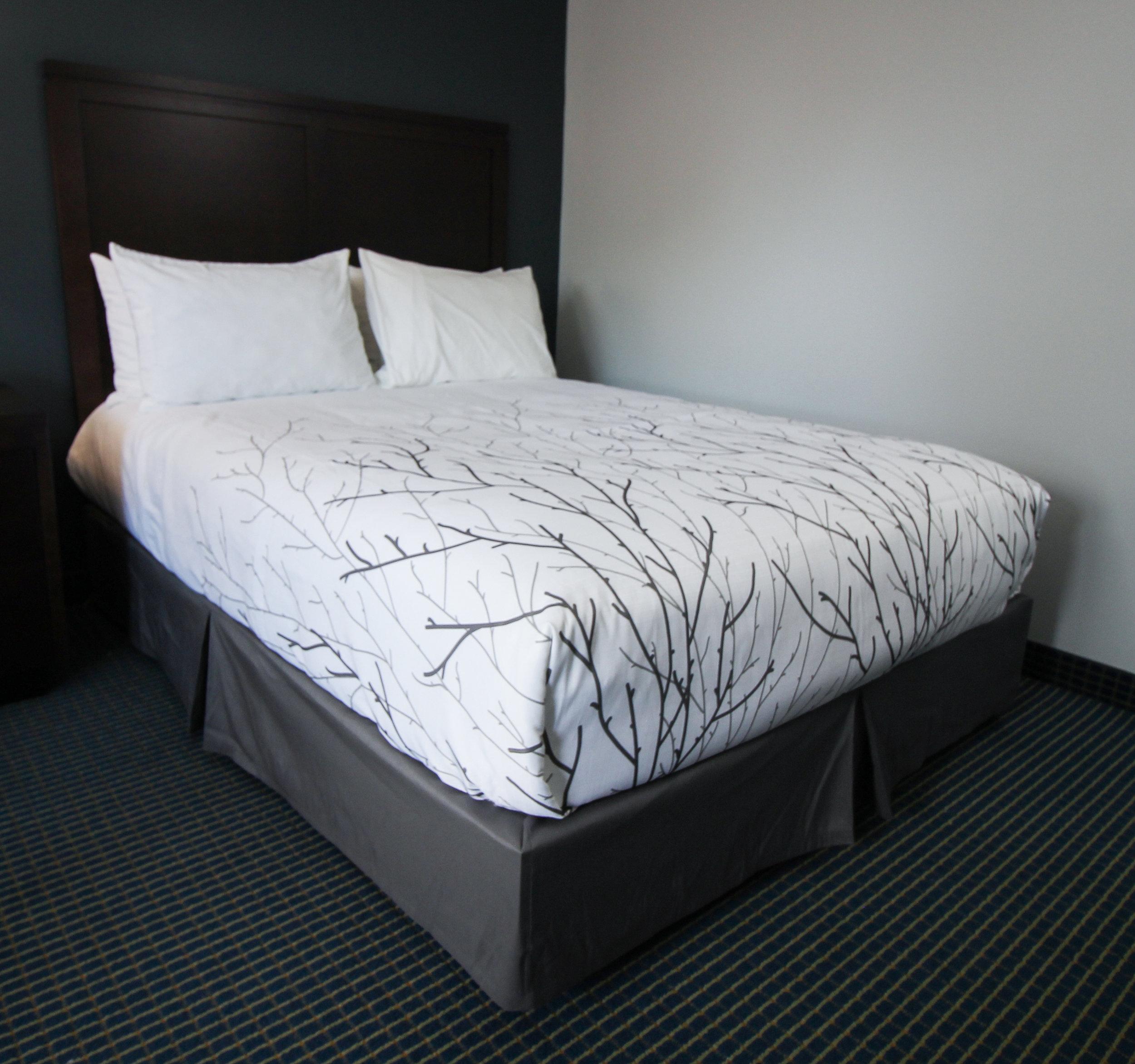 True Experience®  Autumn  birch decorative top sheet