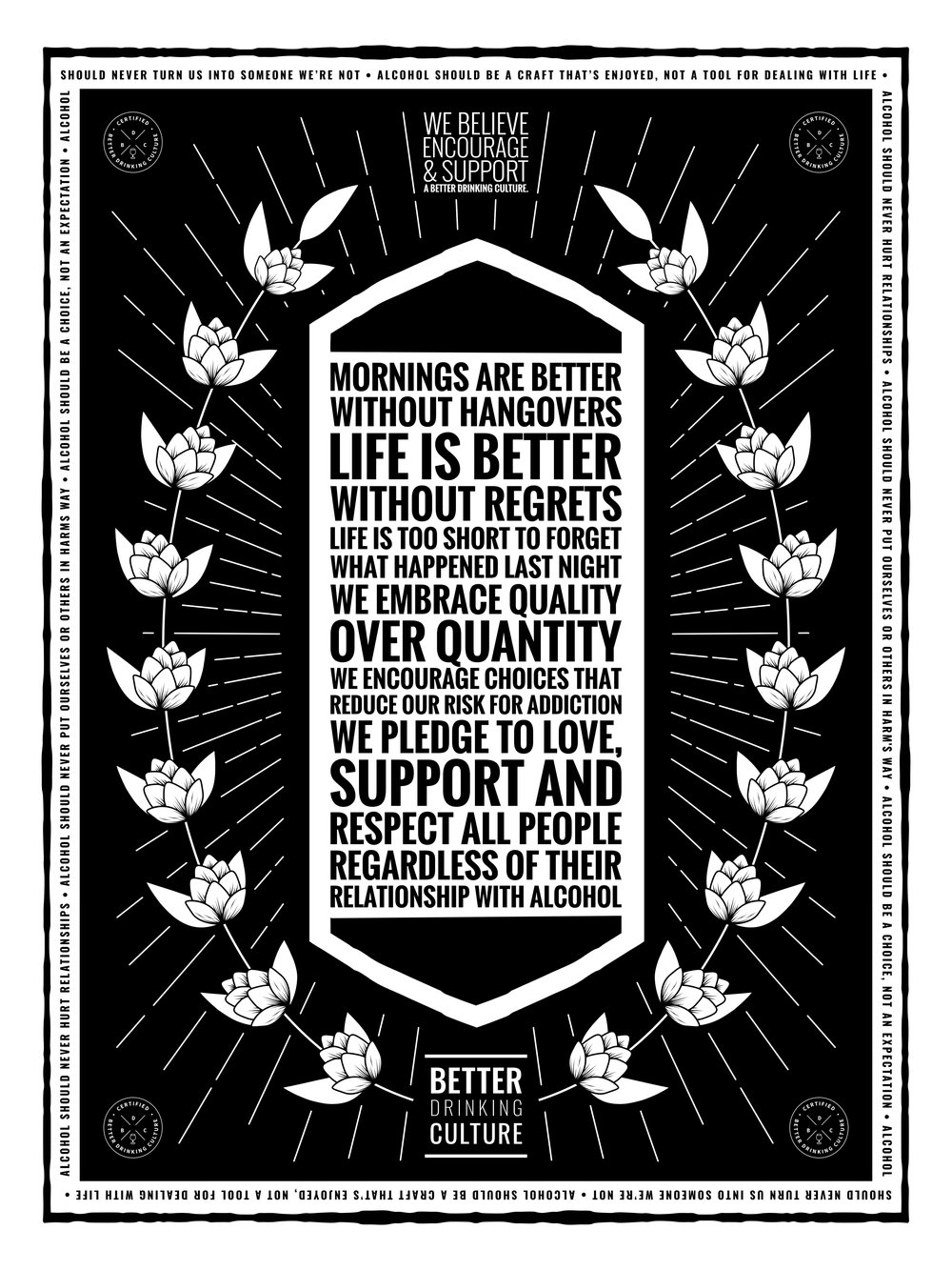 "The original BDC Manifesto. 11""x17"" poster available for  free download ."